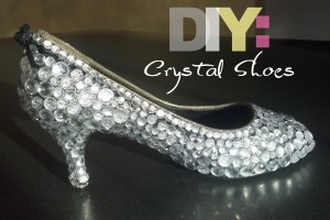 DIY Crystal Shoes – Perfect for Weddings, Proms, or Just for Fun!