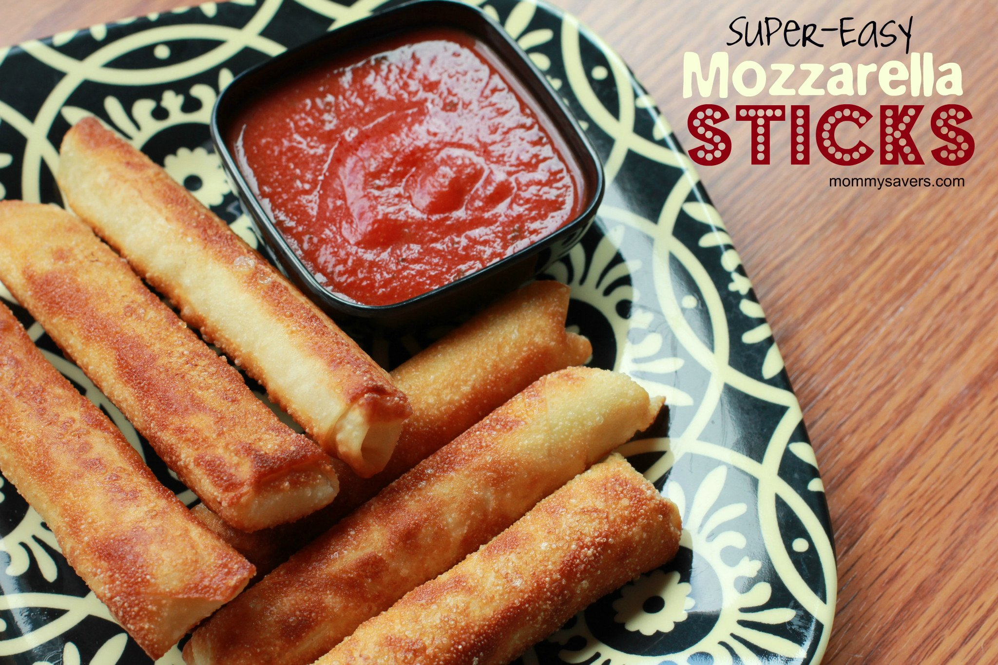 Easy Cheese Sticks Recipe — Dishmaps