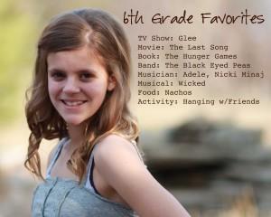 sixth grade photo