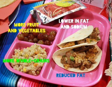 new school lunch tray talk