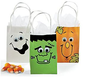 Halloween Bags halloween candy bags Oriental Trading Company Halloween Bags