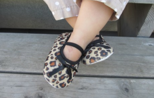Adorable Leopard Print Crib Shoes Just $7 (+ Five Other Prints Available)