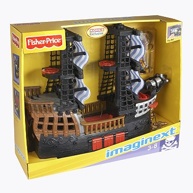 Fisher-Price Imaginext Pirate Ship - Kohl's Early Bird Deals - Toy Deals