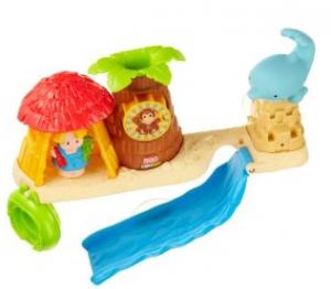 amazon toy deals Fisher-Price Little People Splash 'n Scoop Bath Bar
