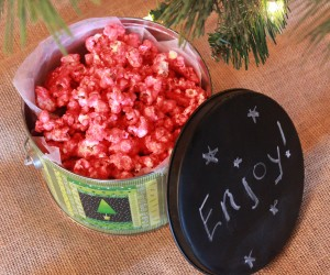jell-o popcorn christmas treats