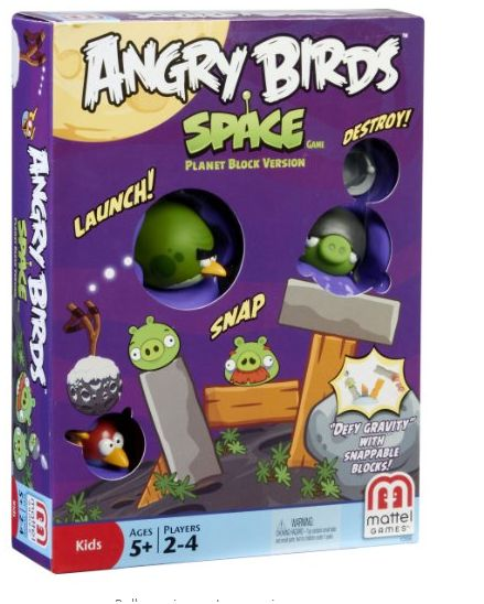 Angry Birds Space Toys : Angry birds space block game amazon toy deals mommysavers