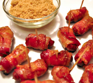 bacon wrapped lil smokies