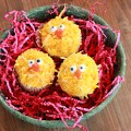 Easter Chick Cupcakes with Wilton Candy Eyes