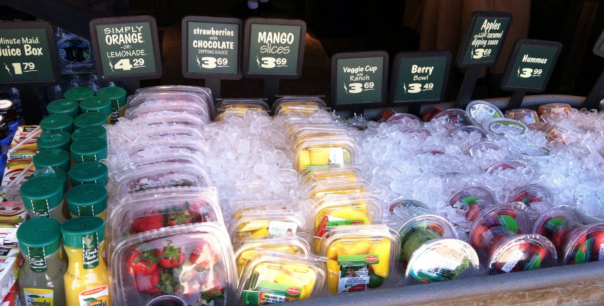 Healthy Eating at Disney: Healthy Snacks