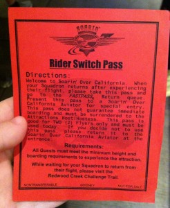 Time-Saving Disney Tip: Rider Switch Pass