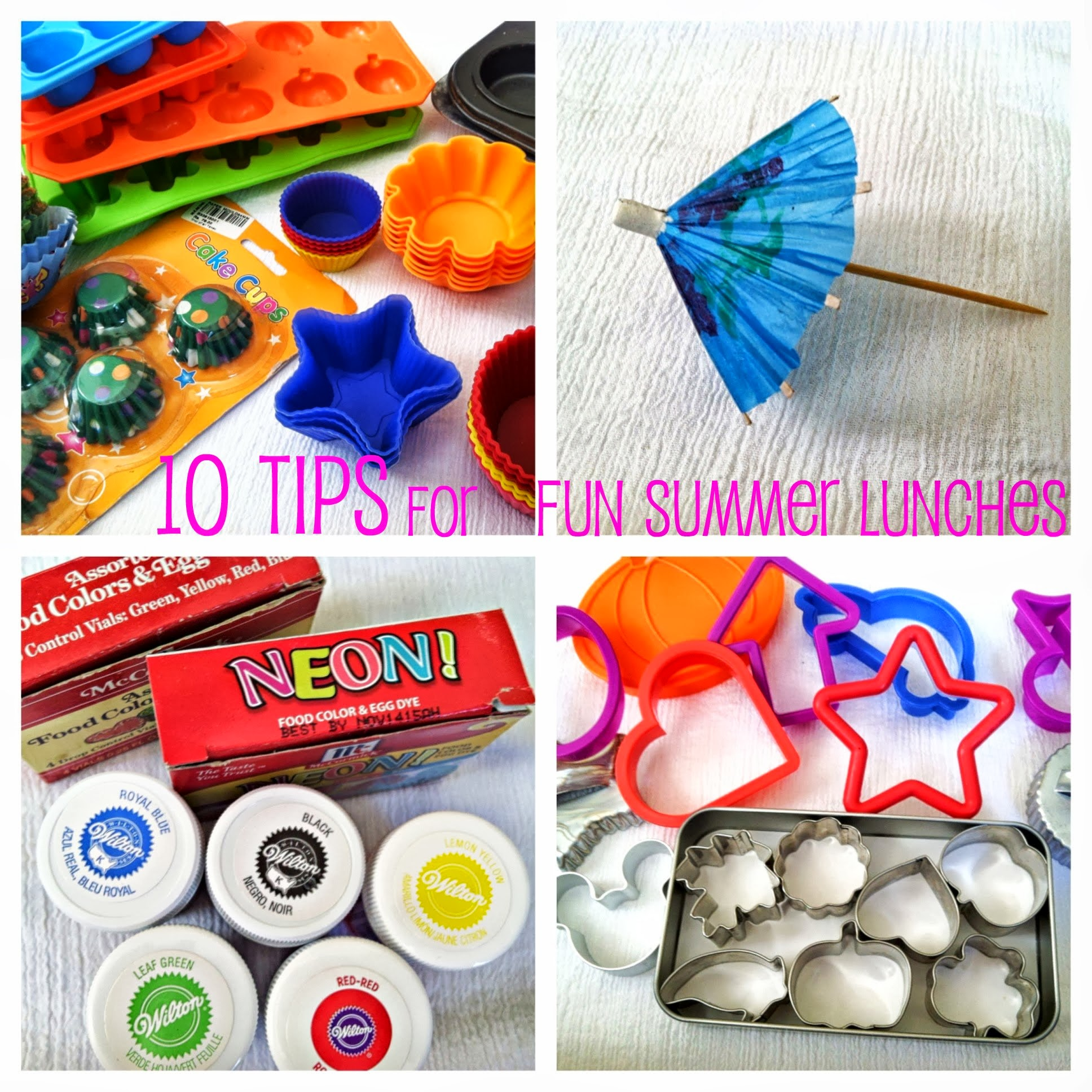 10 Tips for Fun Summer Lunches
