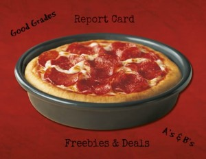 Report Card Freebies and Deals for 2013