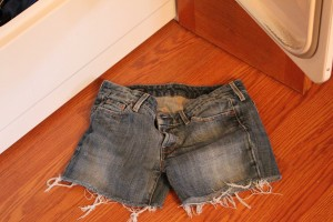 DIY Cutoff Shorts