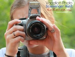 Vacation Vacation Photo Scavenger Hunt Ideas