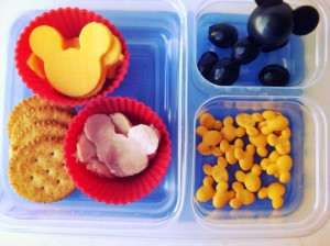 Muffin Tin Monday: Mickey Mouse Muffin Tin Meal