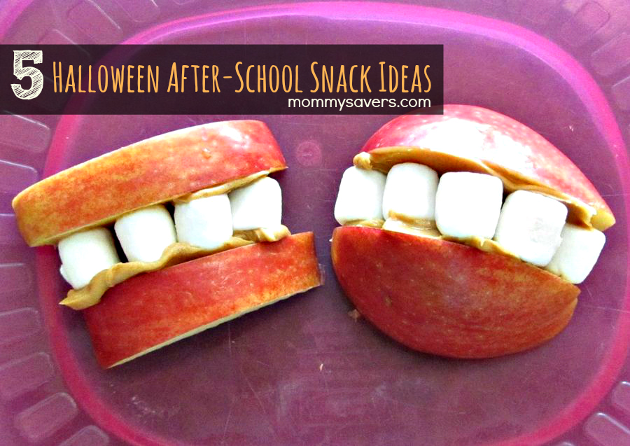 Halloween Snack Ideas for After-School | Mommysavers