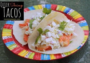 Quick Shrimp Tacos