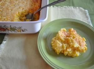 thanksgiving side dish, jiffy corn casserole