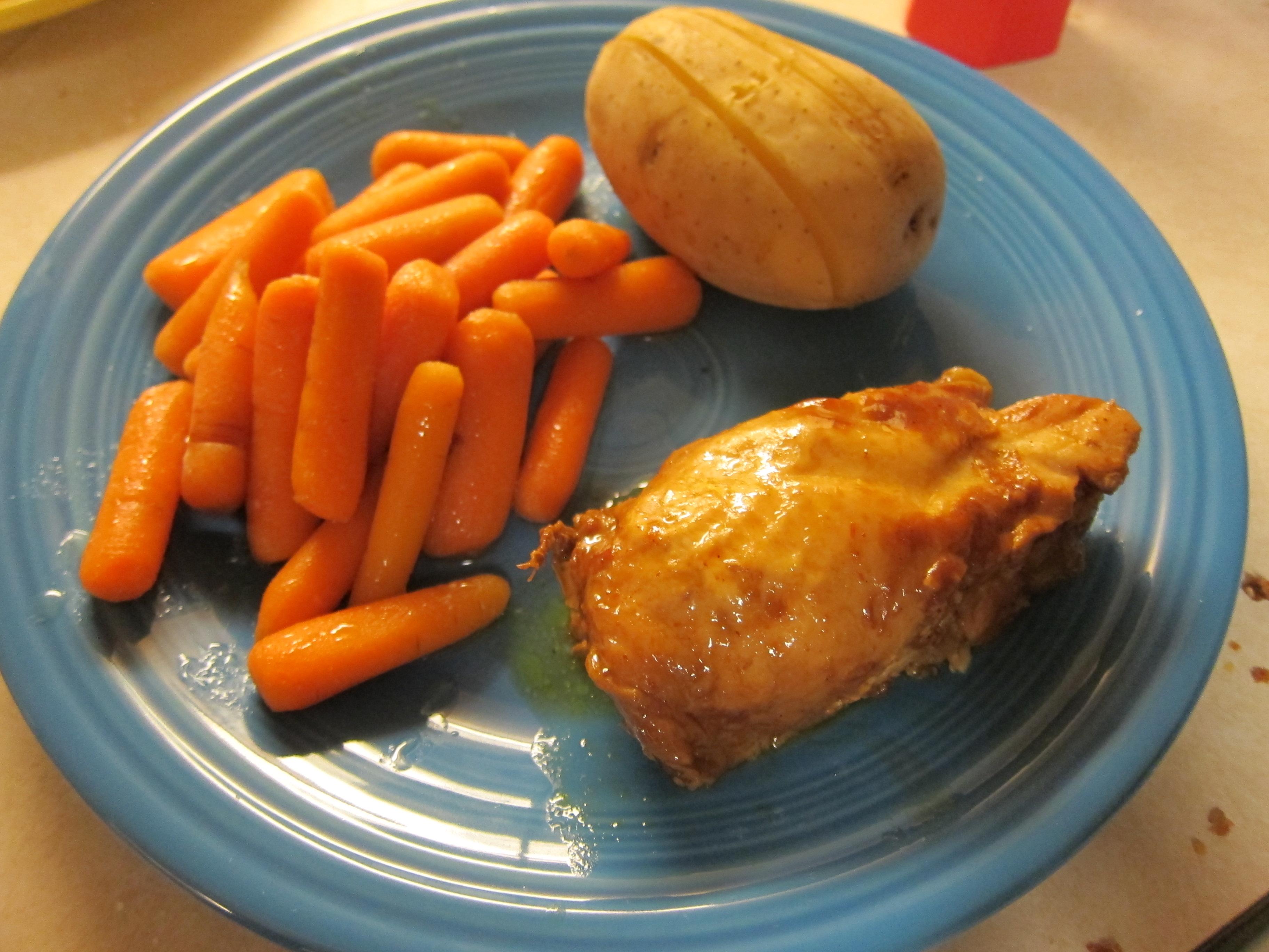 BBQ Chicken in the Crock Pot