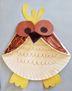 Fun Activities for Kids: Paper Plate Owl Craft
