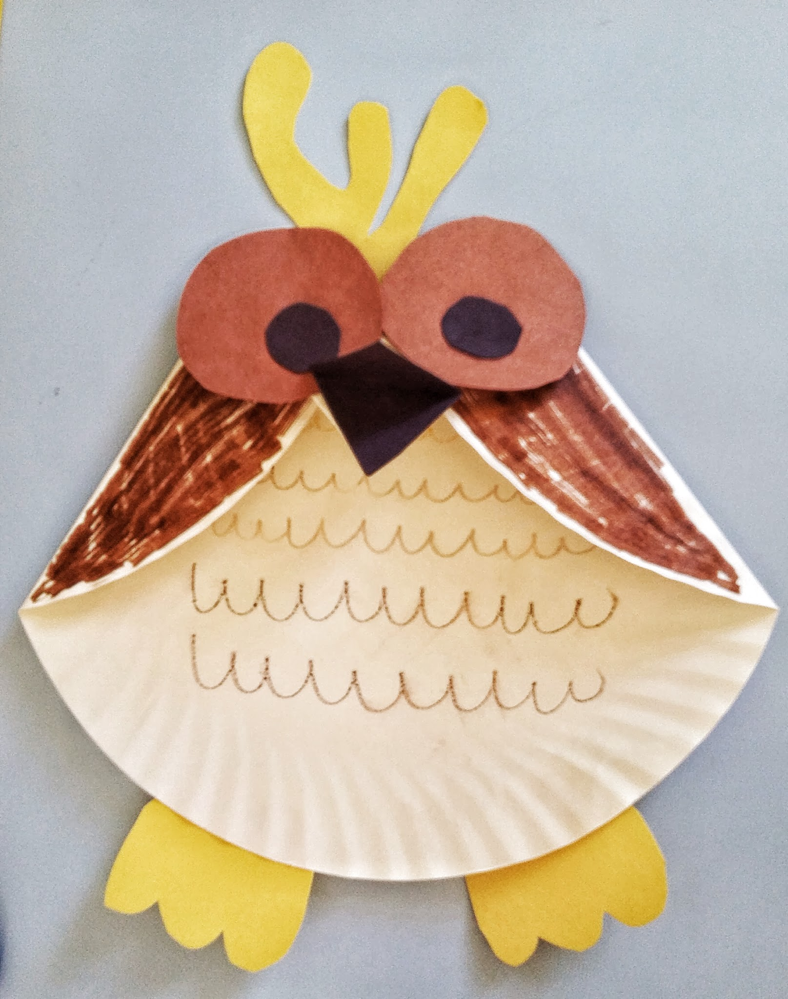Fun activities for kids paper plate owl craft mommysavers jeuxipadfo Choice Image