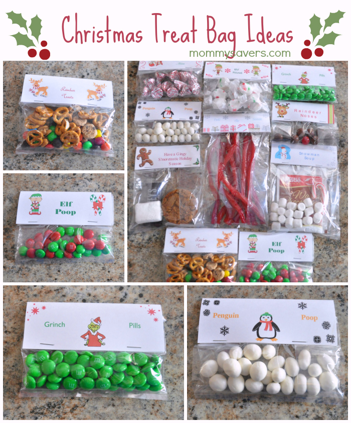 christmas treat bag ideas
