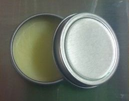 homemade gift idea lip balm