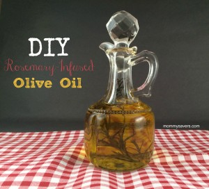 Frugal Gift Idea: Rosemary Infused Olive Oil