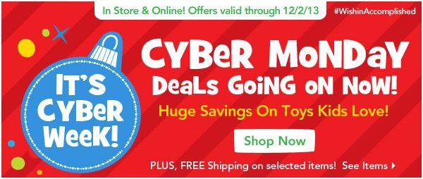 Toys r us cyber monday deals 2018
