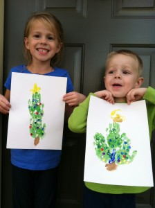 Fun Activities for Kids: Handprint Christmas Tree