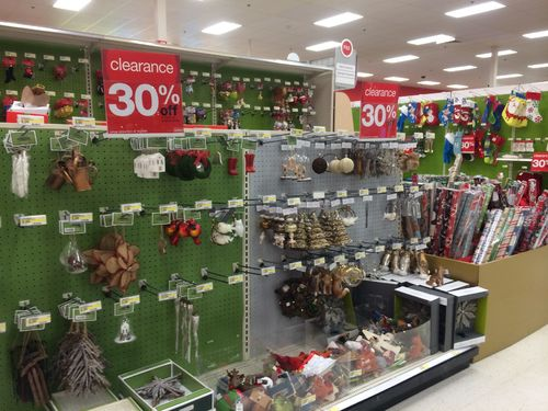 Target Christmas Clearance Schedule 2013
