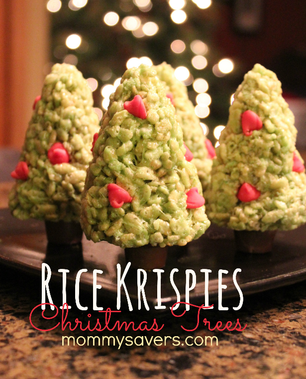 Christmas Rice Krispy Treats