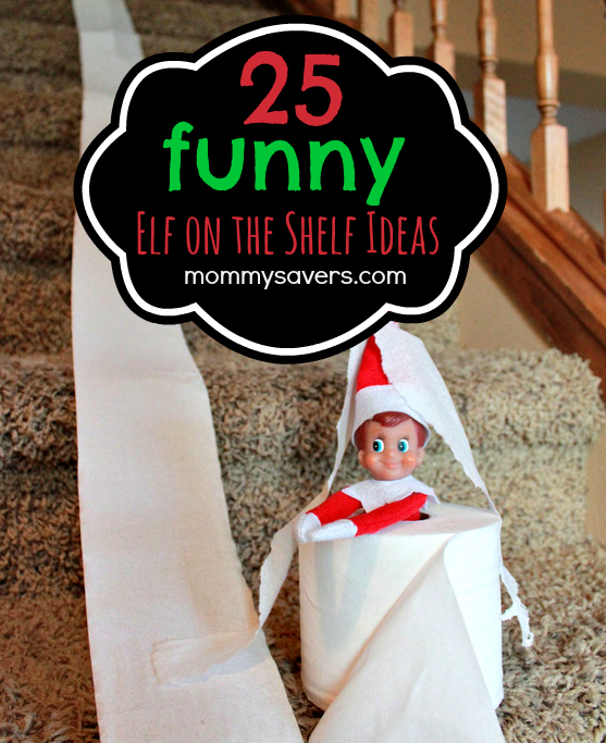 Funny Elf on the Shelf Ideas - Mommysavers.com