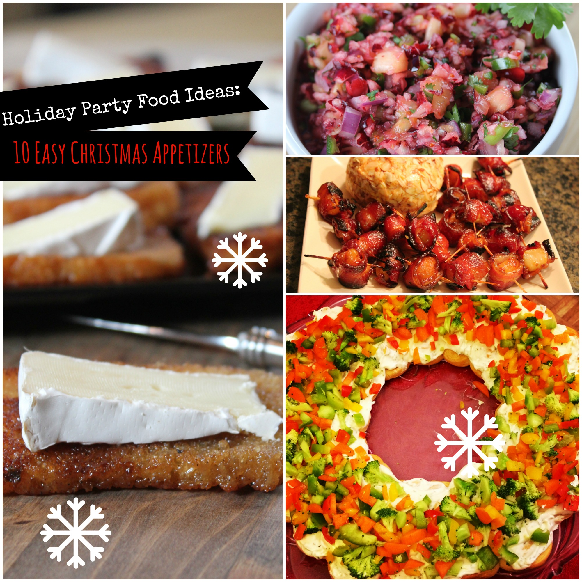 Holiday Party Food Ideas: 10 Easy Christmas Appetizers