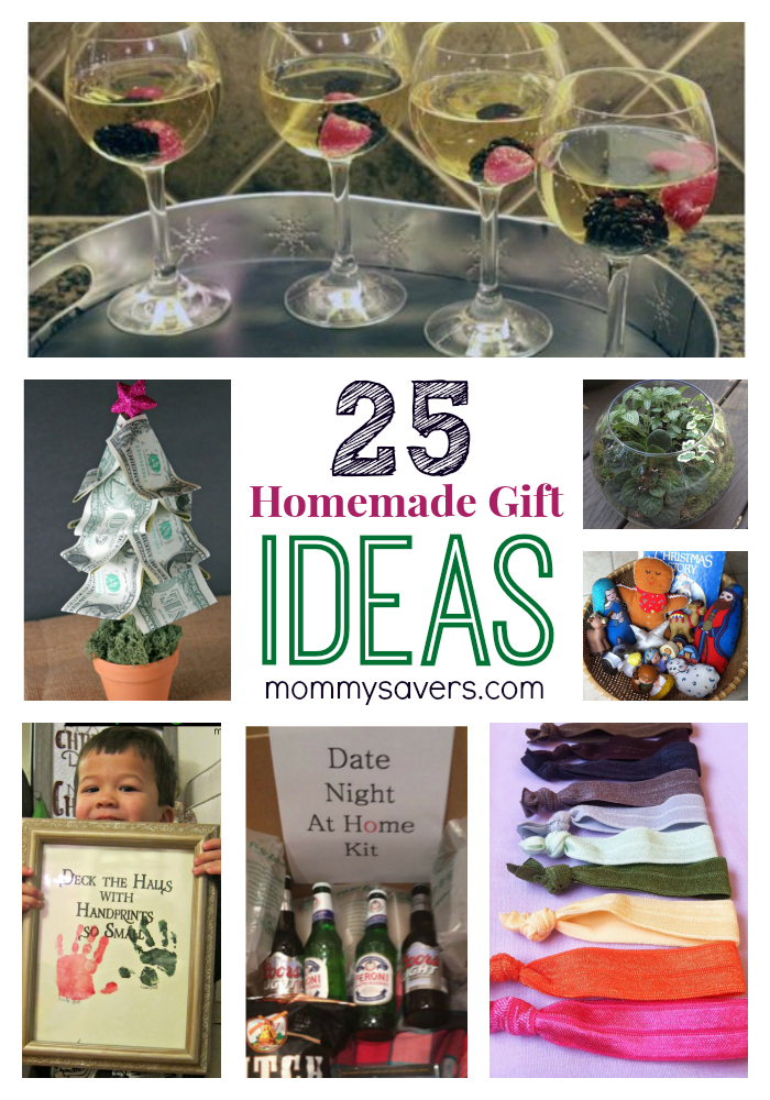 25 Frugal Holiday Gift Ideas and Easy Homemade Gifts ...