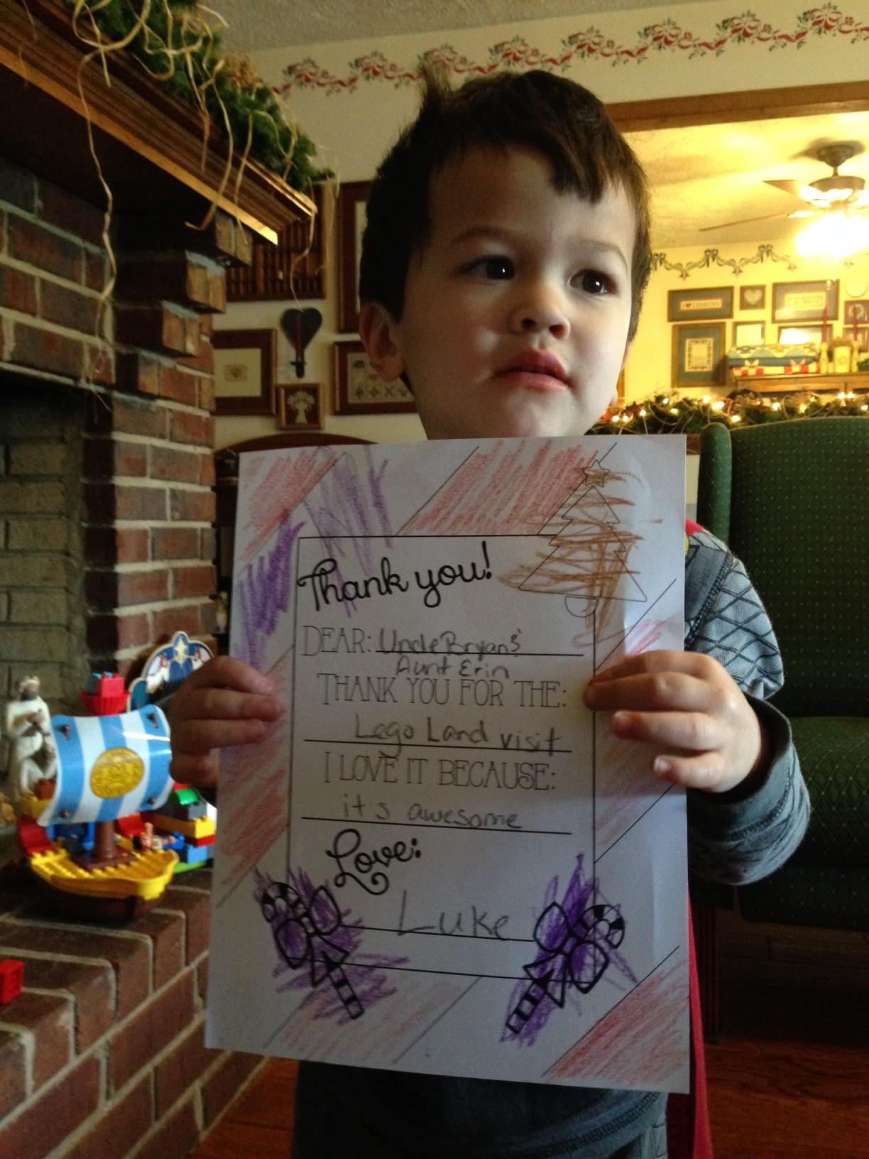 printable thank you cards for kids  free coloring page
