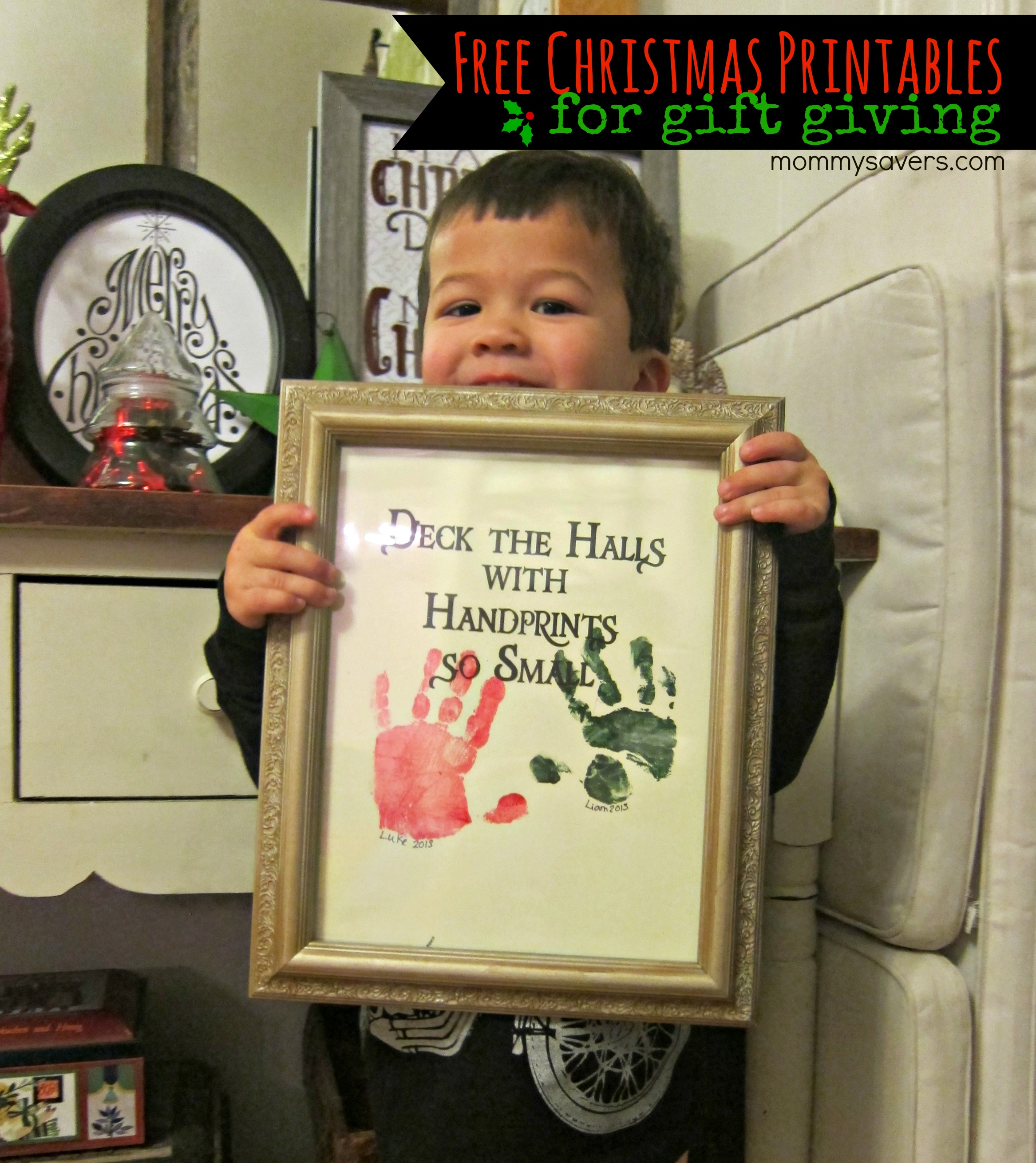 free christmas printable the perfect present for grandparents mommysavers