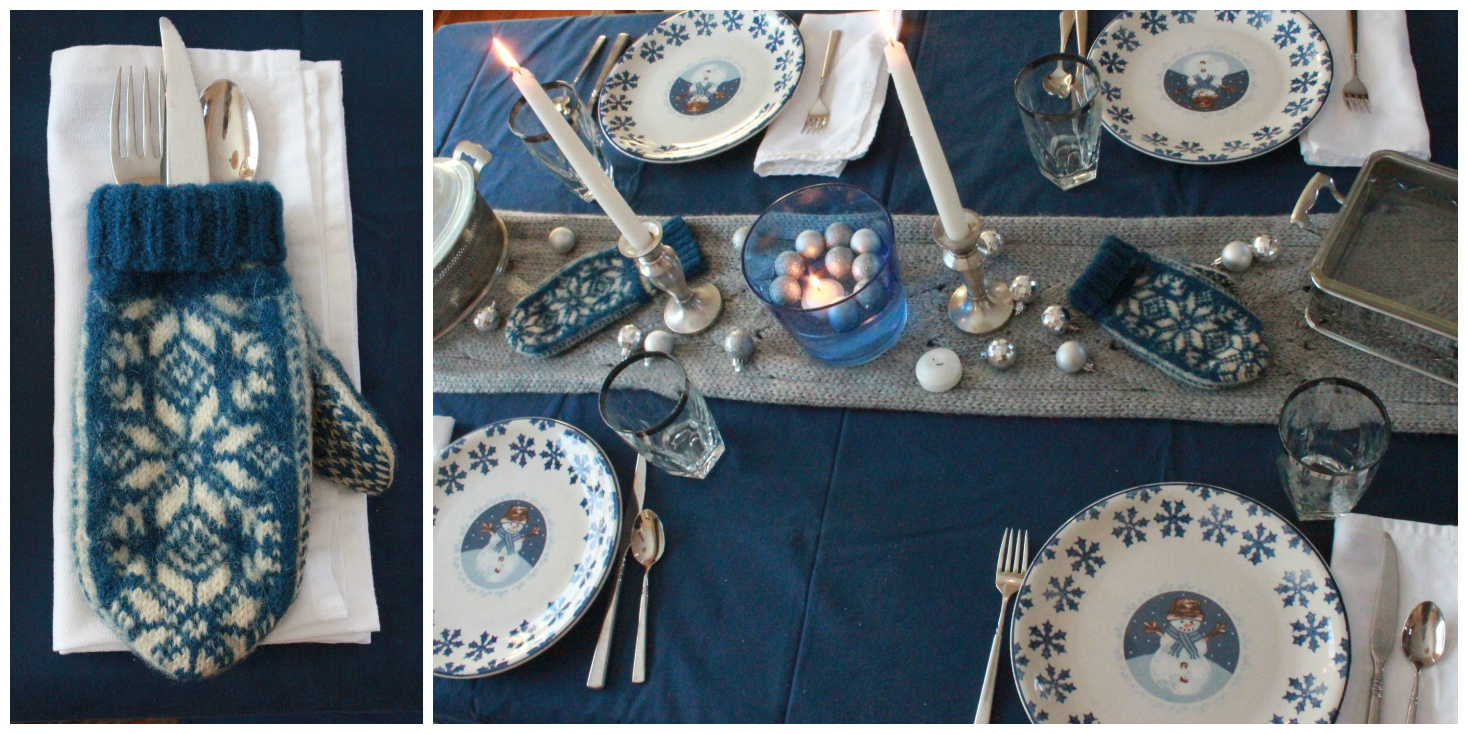 Creating Festive Winter Tablescapes on a Thrift Store Budget