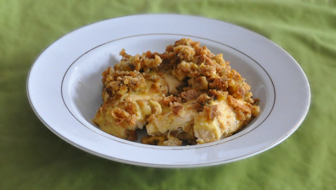 crock pot cheesy chicken and stuffing