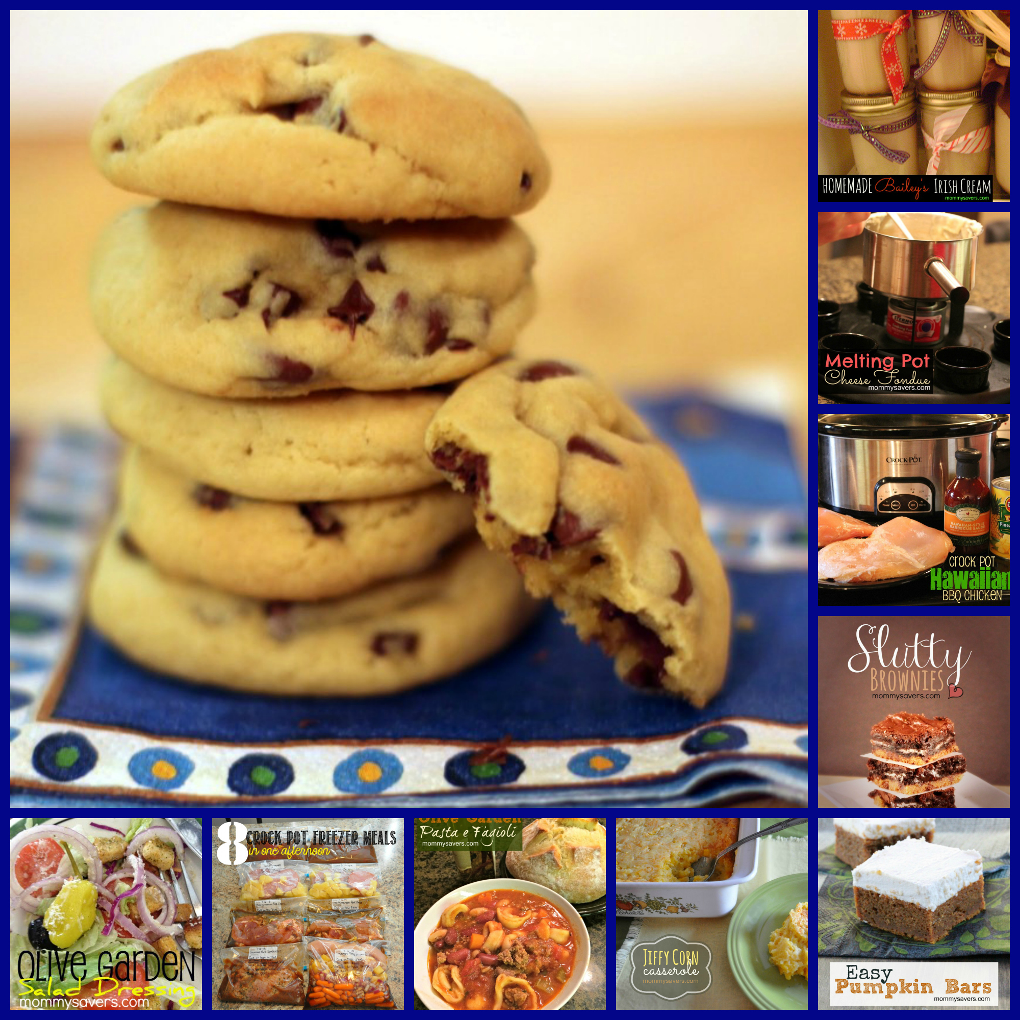 Top 10 Mommysavers.com Recipes from 2013