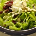 Easy Goat Cheese Cranberry Salad