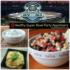Five Healthy Super Bowl Appetizers