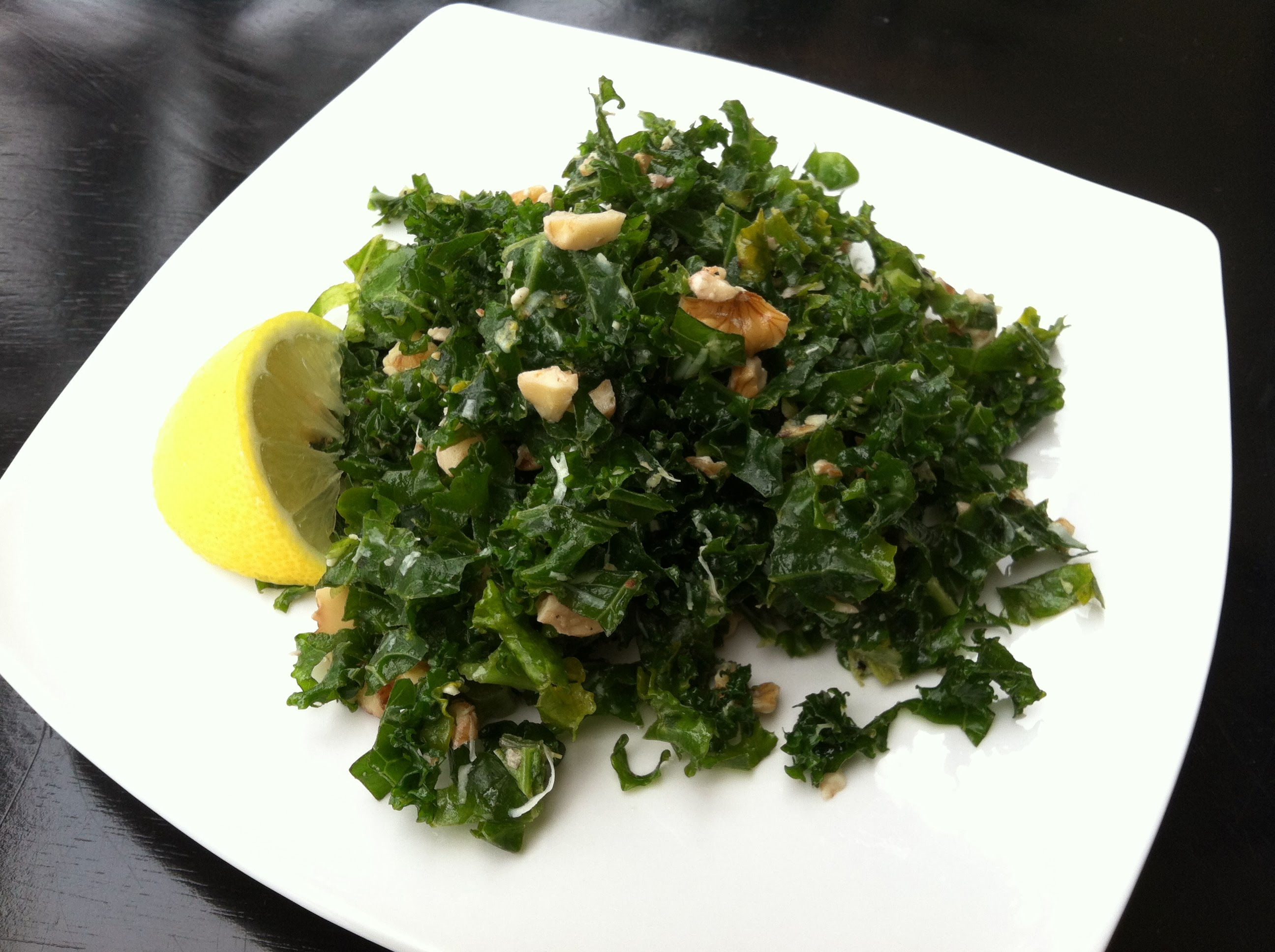 Lemon Kale Salad Recipe