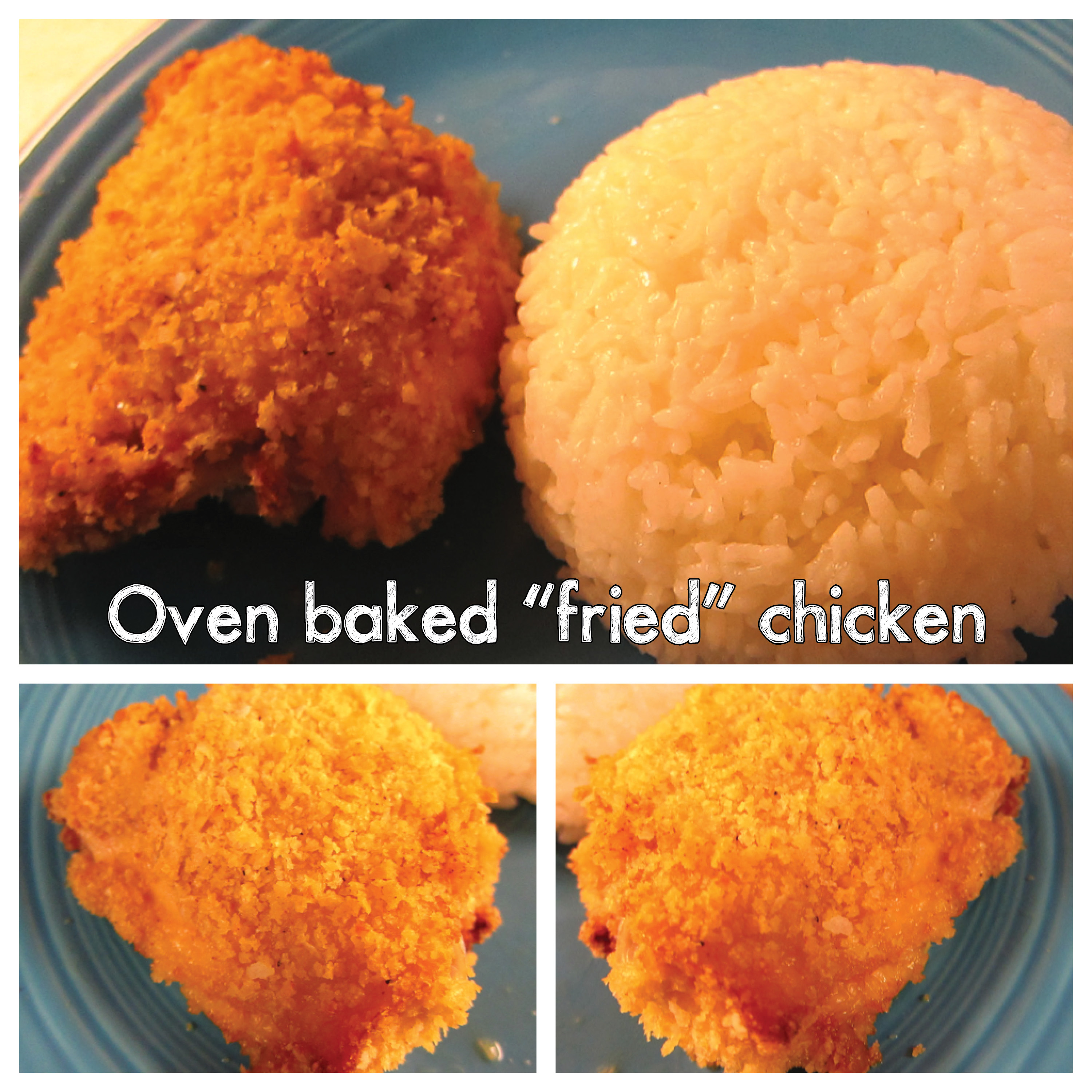 Oven Backed Fried Chicken2