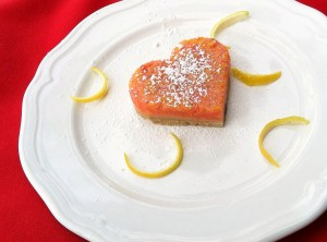 strawberry lemonade heart bars