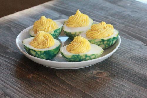 St. Patrick's Day Recipes - Eggs