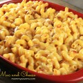 Baked Macaroni and Cheese With Bacon