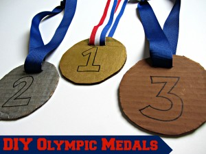 DIY Olympic Medals (Kids' Craft)