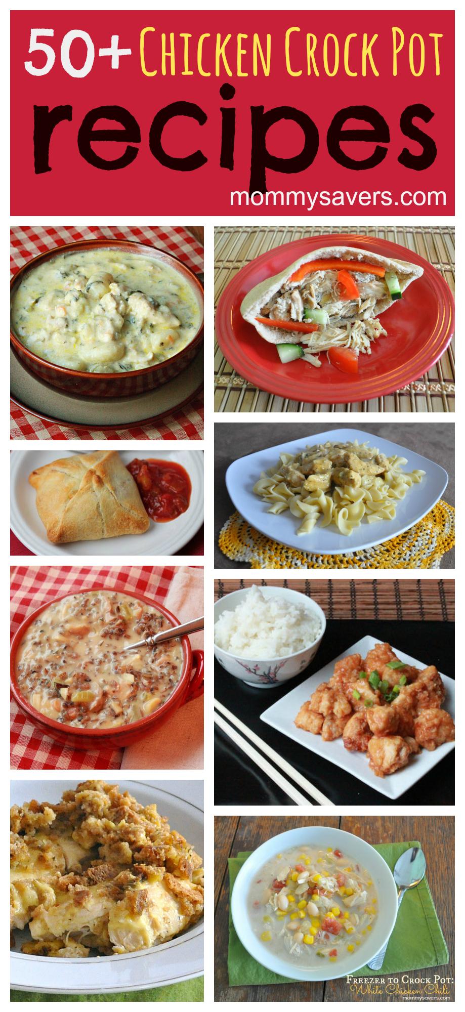 Easy Chicken Crock Pot Recipes