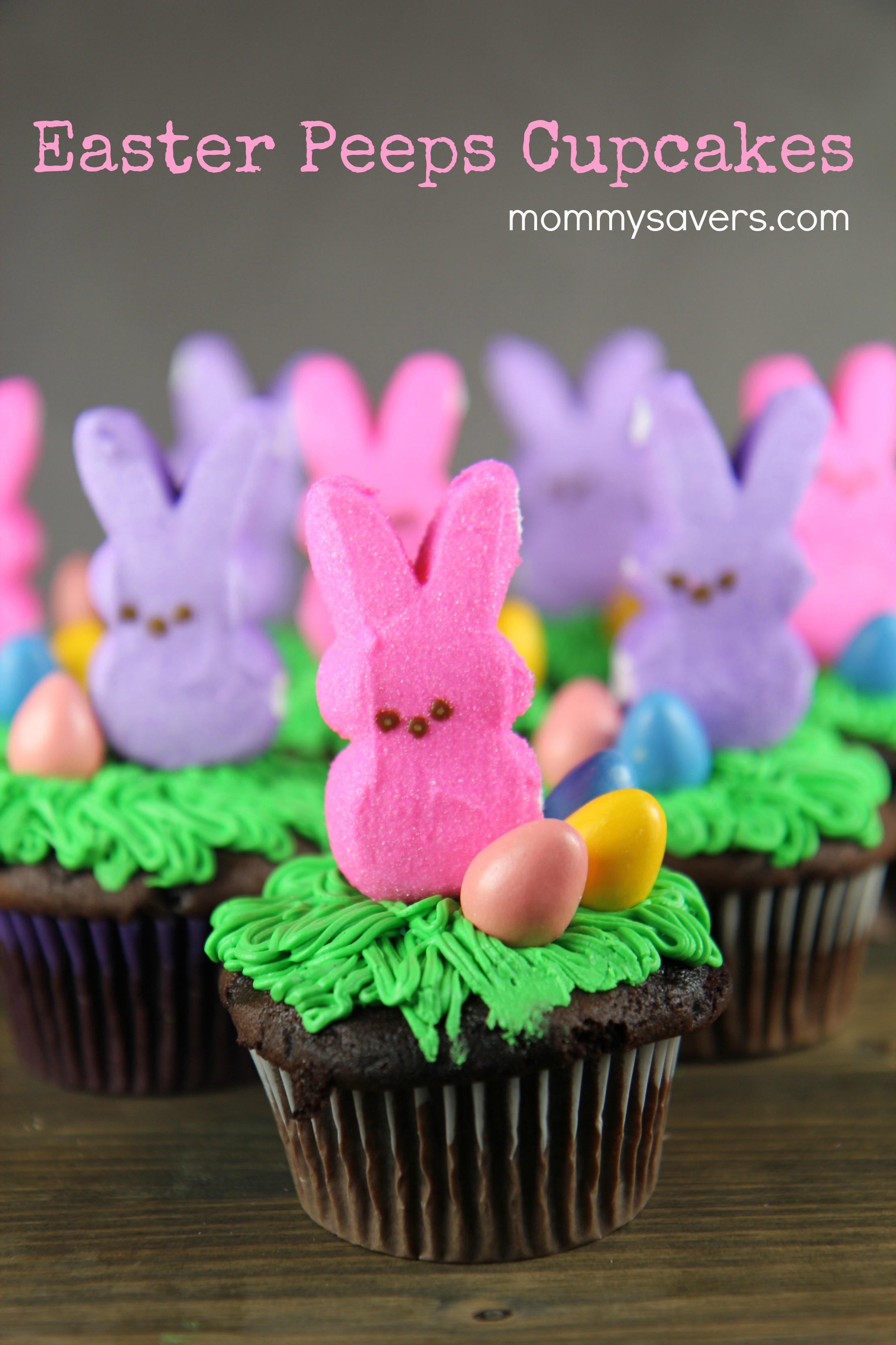 Easter Peeps Cupcakes